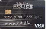 PICTURE OF NEW BLACK CREDIT CARD WITH SILVER STREAKS